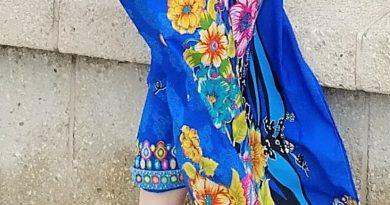 30 Min Summer DIY: Bright Floral Pareo