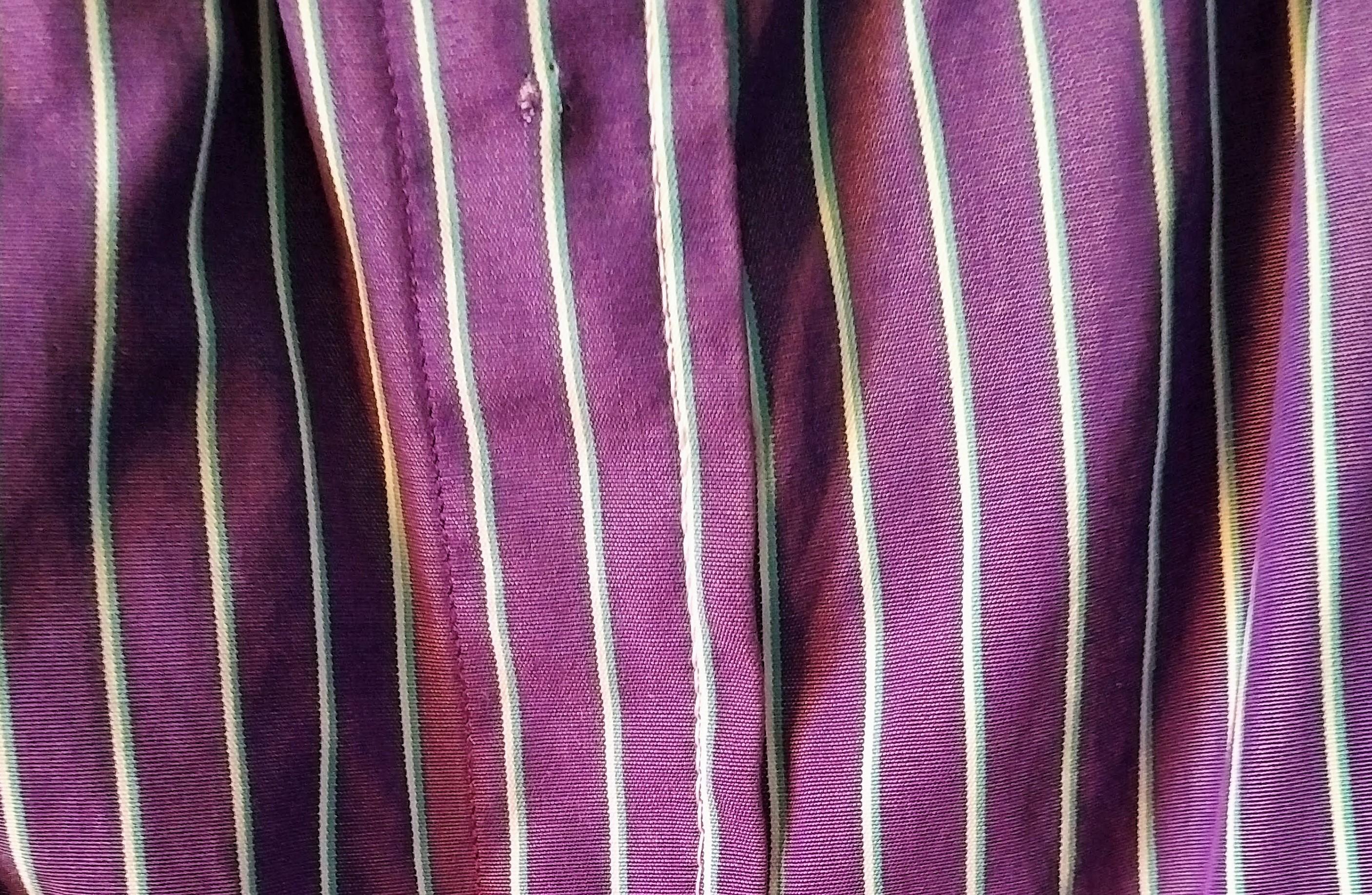 Man's shirt into summer dress DIY