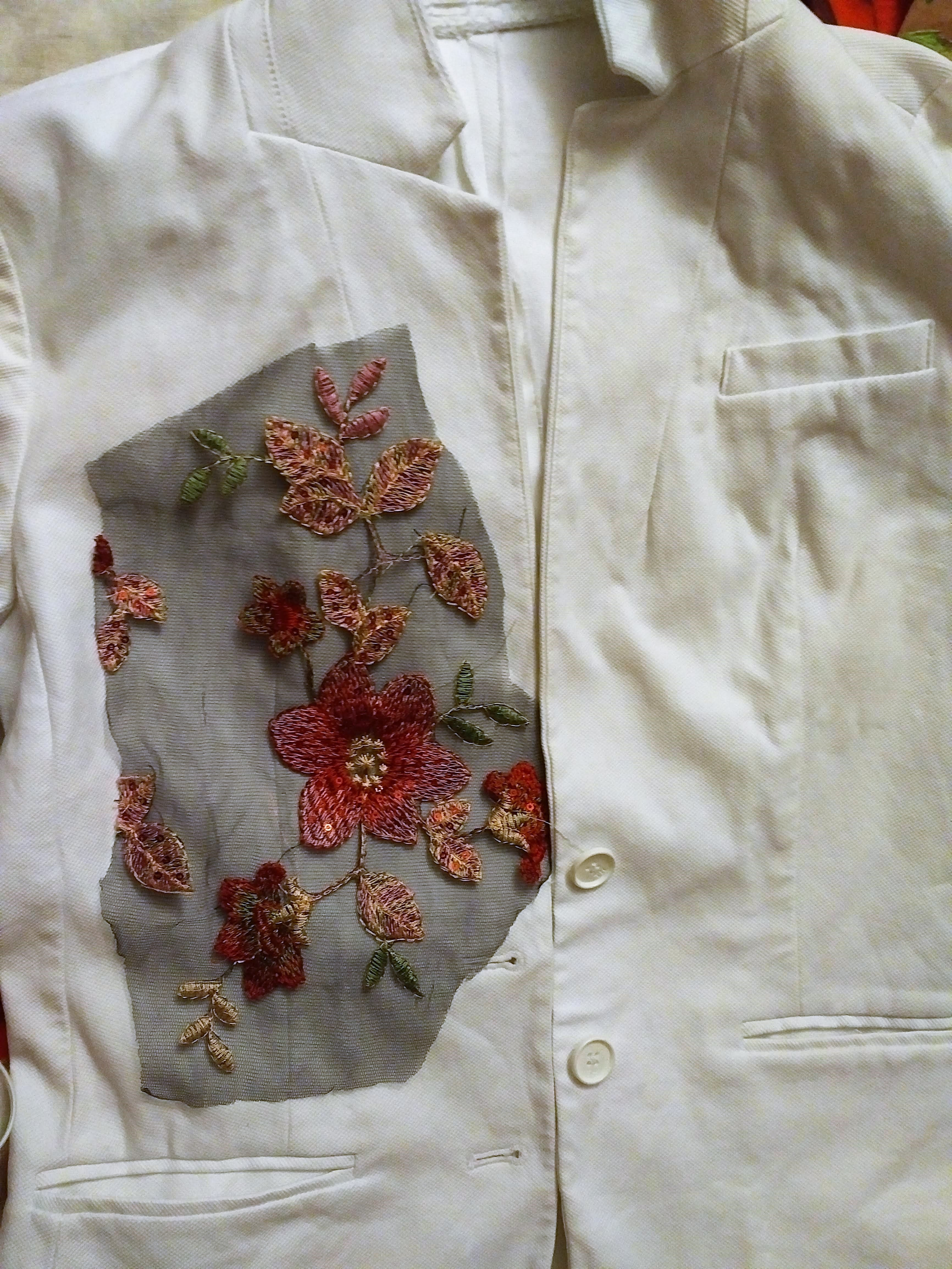Jacket refashion--VLifestyle.org