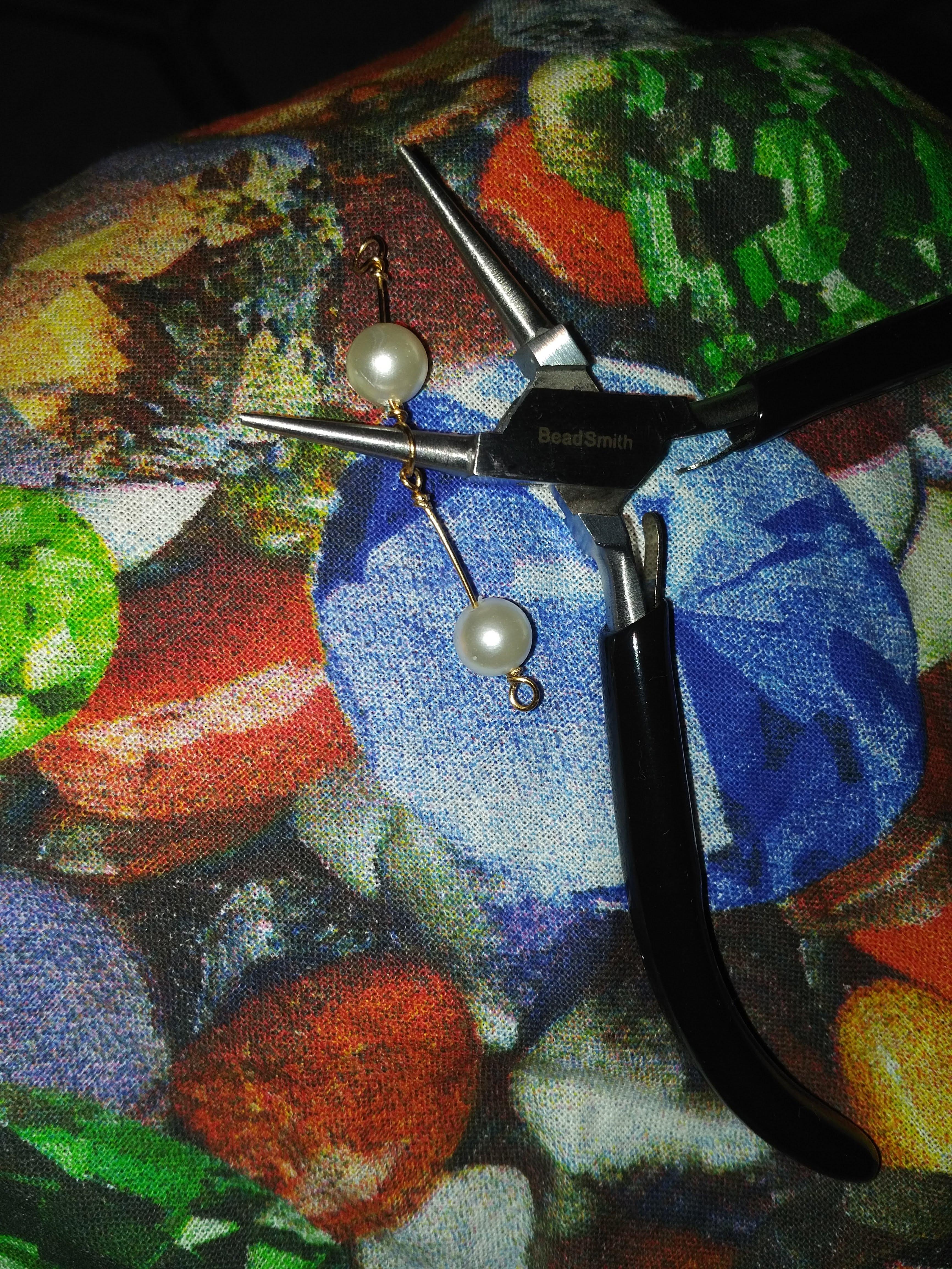 Summer pearls-DIY-VLifeStyle.org