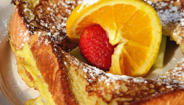 Pound Cake French Toast - VLifeStyle.org