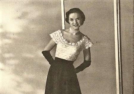 Antique lace evening blouse-VLifestyle.org