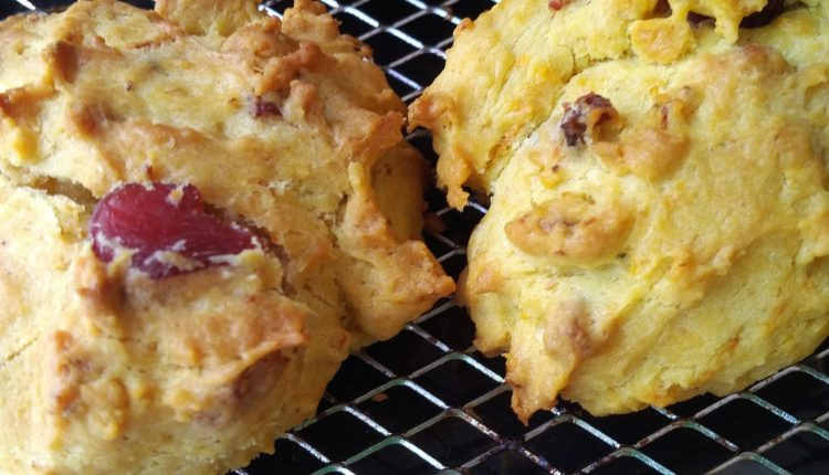 Savory WWII scones