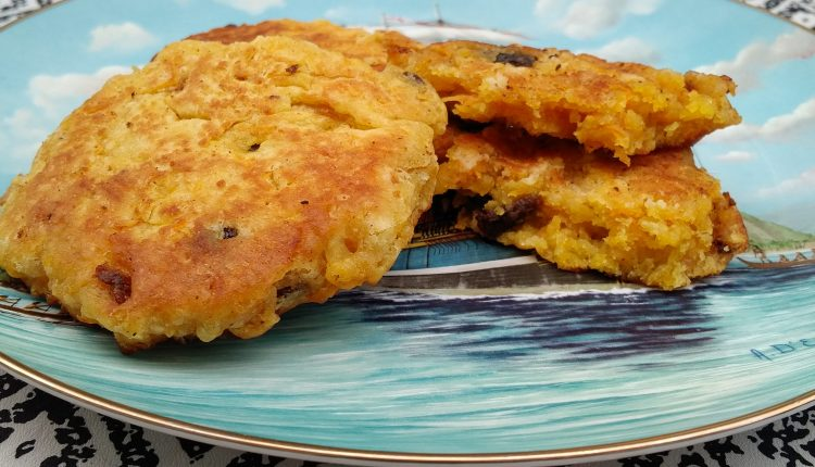 WWII carrot pancake recipe
