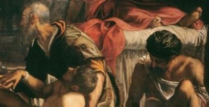 St. Roch Healing the Plague Stricken painting