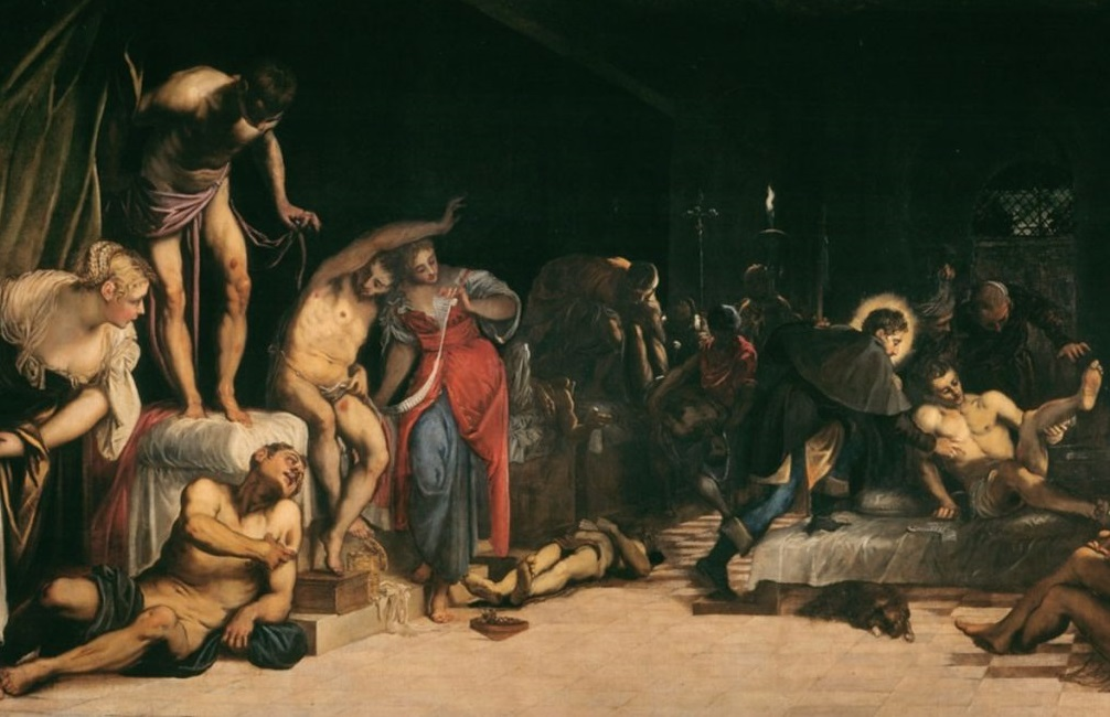 Story behind St Roch Healing the Plague Stricken painting--VLifestyle.org